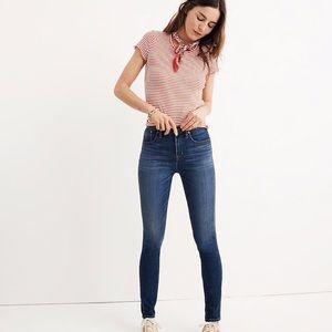 "Madewell 10"" High-Rise Skinny Tencel Jeans"